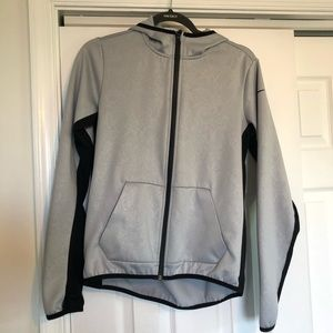 Nike Grey Zip Up Jacket